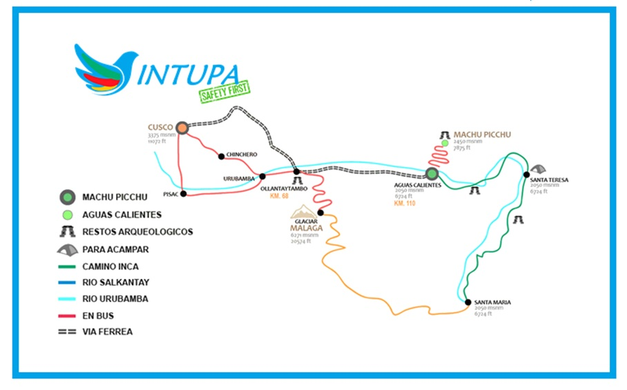 Mapa By Car Intupa