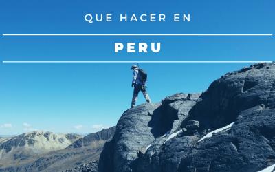 Que Hacer en Peru