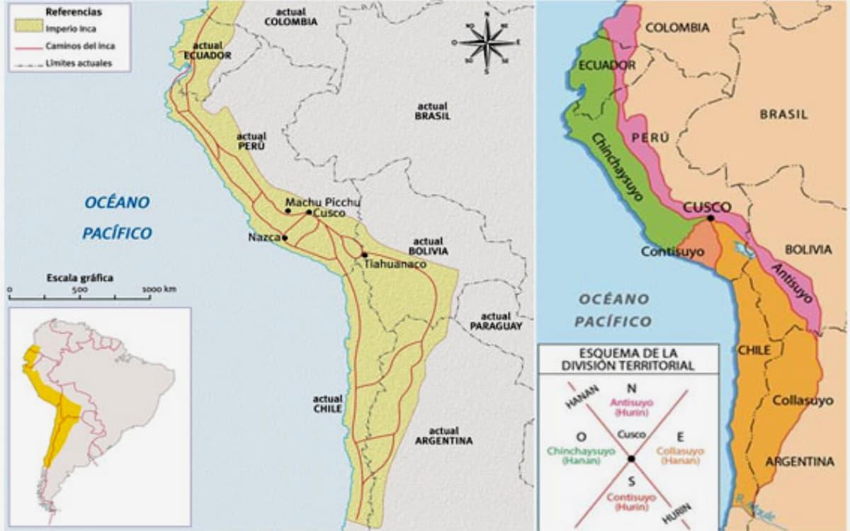 Tahuantinsuyo-Mapa
