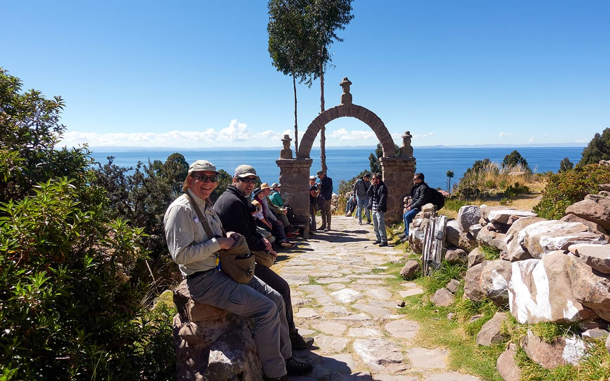 Isla-Taquile-en-Puno-Perú